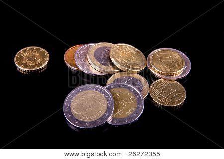 photo euro coins