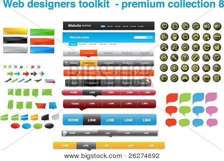 Web Designers Toolkit Premium Collection 8