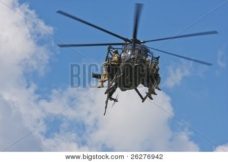 CONCORD, NC - May 30:  The US Army performs before the NASCAR Sprint Cup teams take to the track for the Coca-Cola 600 Race at the Charlotte Motor Speedway on May 30, 2010 in Concord, NC