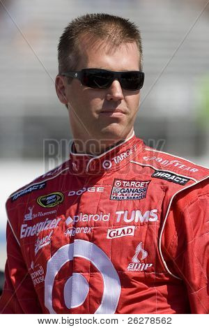 DOVER, DELAWARE - MAY 30:  Jeremy Mayfield during qualifying at Dover International Speedway for the running of the NSCS Best Buy 400 in Dover, Delaware. on May 30, 2008.