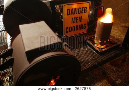 Men Cooking