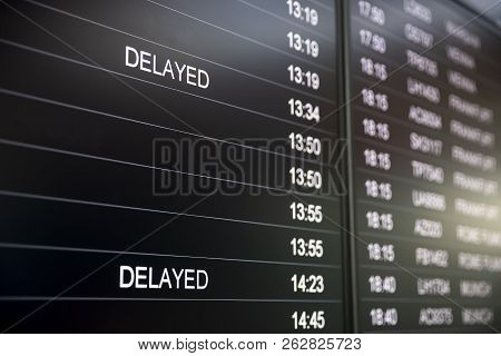 poster of Boarding Time Monitor Screens - Timetable Boards. Arrivals And Departures Monitors To Check The Stat