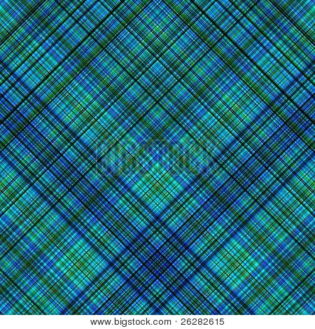 Blue and green colors diagonal lines pattern background.