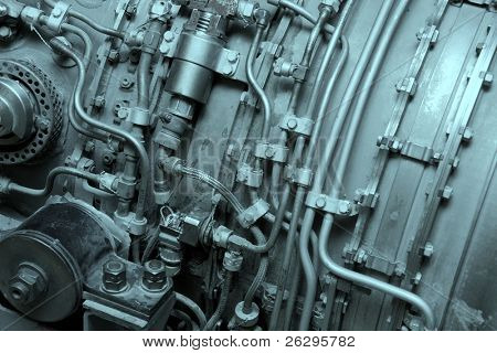 Internal of an aircraft engine