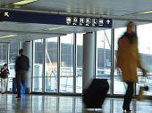 Постер, плакат: Аэропорт путешественник