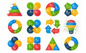 Infographics Templates. Business Diagrams, Arrows Graphs, Presentations, Idea Cycle Charts. Data 4 O poster