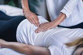 Reiki Lower Back Massage poster