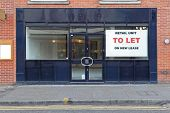 Vacant Retail Shop To Let In London poster
