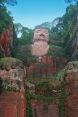 stock photo of emei  - Leshan Giant Buddha - JPG