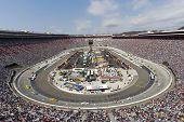 BRISTOL, TN - MAR 20:  The NASCAR Sprint Cup teams take to the track for the running of the Jeff Byr