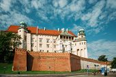 Krakow, Poland. Wawel Castle In Summer Day. Famous Landmark. Unesco World Heritage Site. Fortified A poster