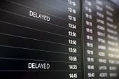 Boarding Time Monitor Screens - Timetable Boards. Arrivals And Departures Monitors To Check The Stat poster