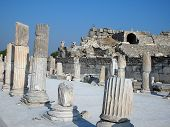 Ancient Ruins In Ephesus Turkey poster