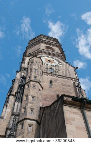 Stiftskirche (collegiate Church) : North Tower (closeup View)