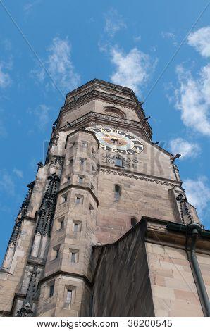 Stiftskirche (collegiate Church) : North Tower (closeup View)