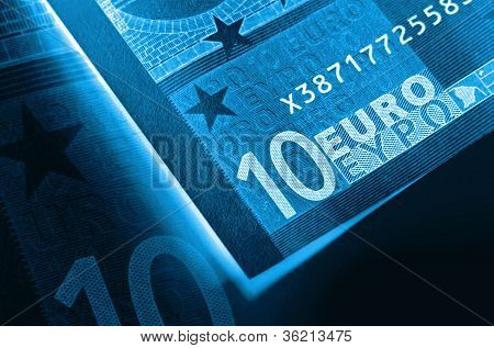 Euro Money Abstract Background