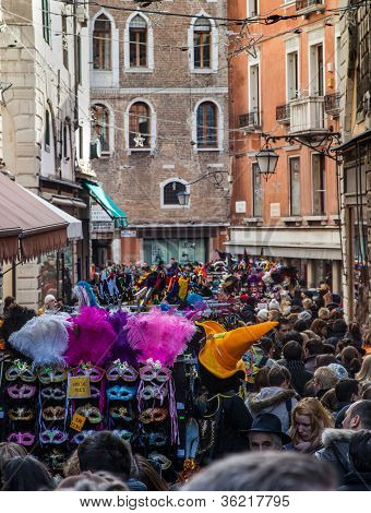 Venetian Crowd