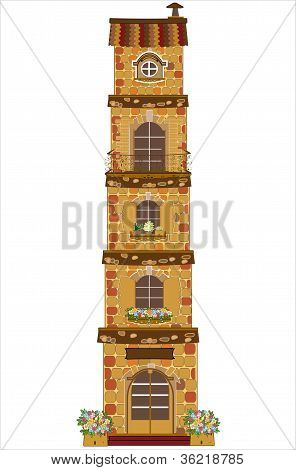 House theme image.vector illustration