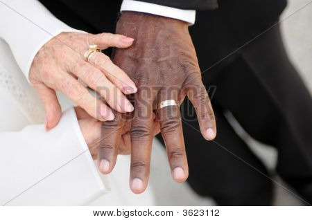 Interacial Senior Marriage