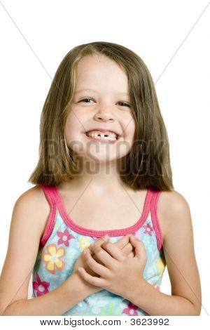Girl With Crooked Teeth