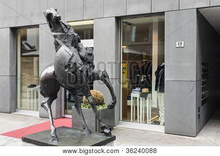 Bronze Horse Statue  Grande Cavallo By Nag Arnoldi