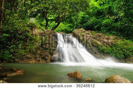 Waterfall At Sarika
