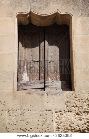 Window In Lecce Puglia