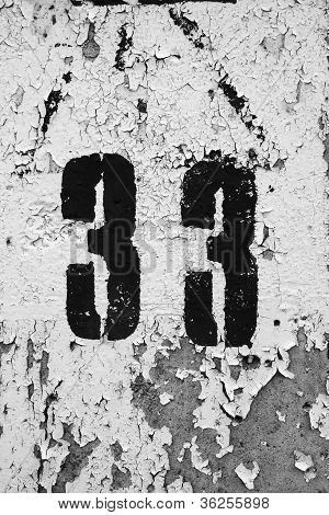 Grungy Number Thirty Three