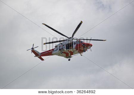 Portland Küstenwache Hubschrauber