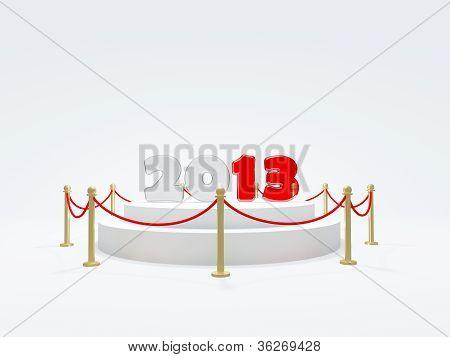 2013 New Year symbol