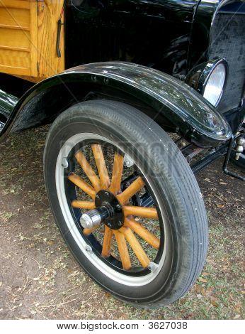 Antique wheel