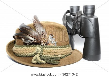 Hat And Binoculars