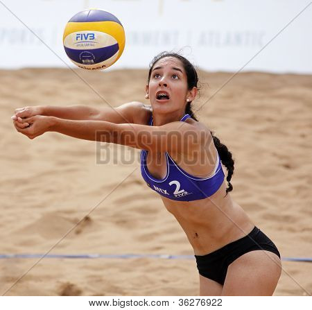Beach Volleyball Woman Mexico Ball