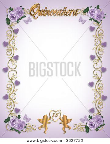 15 Birthday Lavender Quinceanera
