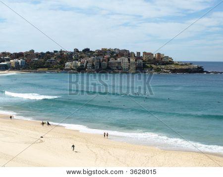 Beach And City