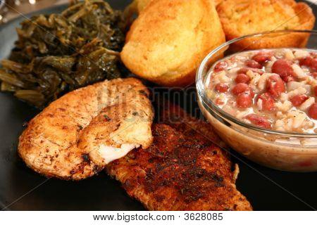 Cajun Catfish And Chicken