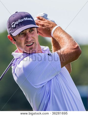 Dustin Johnson no 2012 Barclays