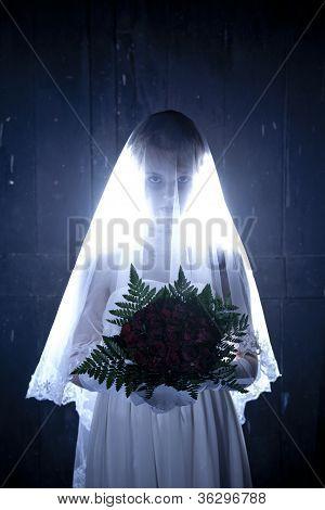 Hallowen Photo Theme: Corpse Bride