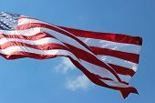 foto of betsy ross  - Red white and blue of the American flag - JPG