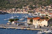 foto of luka  - Port with boats in Vala Luka Croatia - JPG