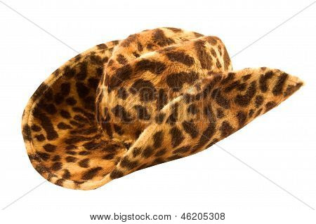 Leopard Cowgirl Hat
