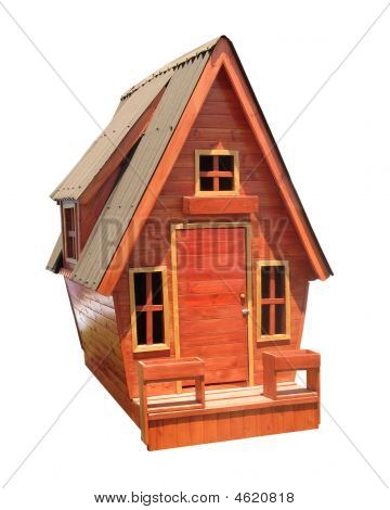 Children's Wooden House