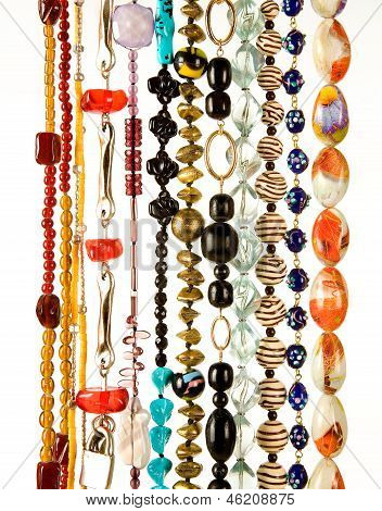 Beaded Necklaces Fashion Composition