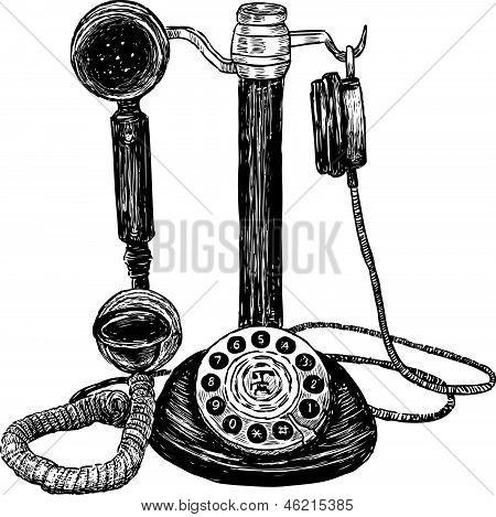 Vintage Phone.eps