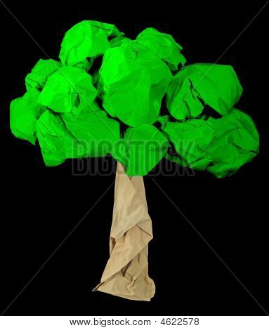 Paper Tree, Green