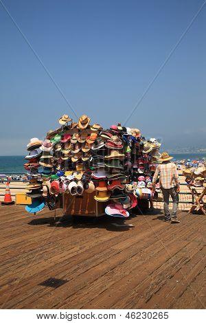 Santa Monica Pier Vendor