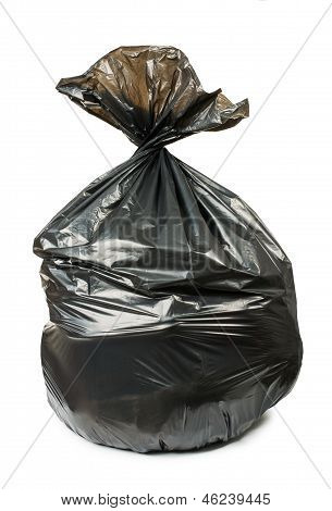 Black Bag Of Rubbish