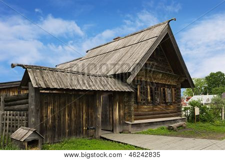 Russian Peasant House Of The Nineteenth Century