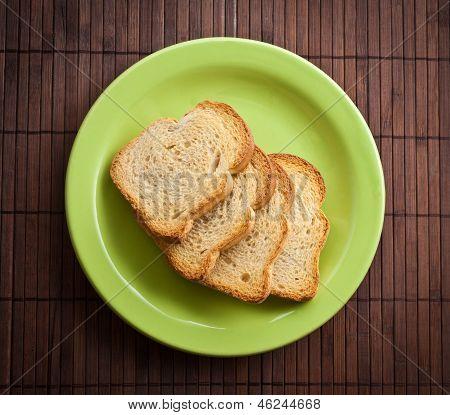 Pile Of Toast.