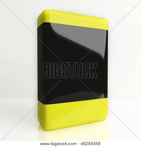 Software Box Yellow Black
